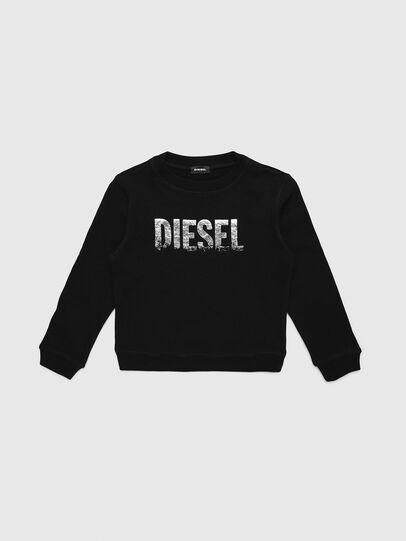 Diesel - SRALY, Black - Sweaters - Image 1