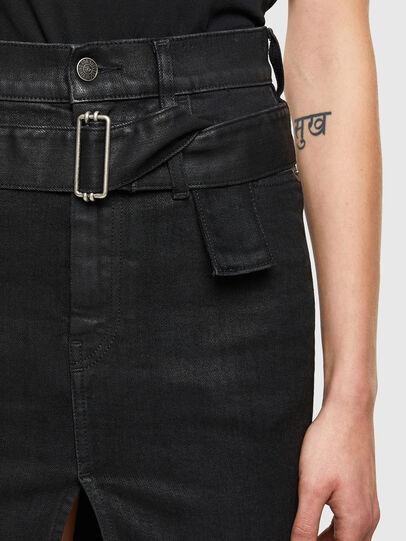 Diesel - DE-FEDY-SP, Black - Skirts - Image 3