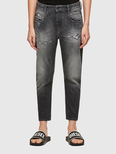 Diesel - Fayza JoggJeans® 009QT, Black/Dark grey - Jeans - Image 1
