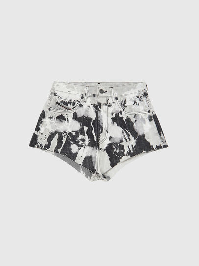 Diesel - DE-HIGWEI, Black/White - Shorts - Image 1