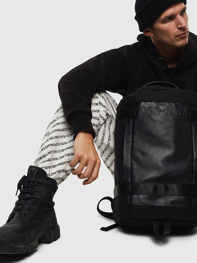 Diesel - PIEVE, Black - Backpacks - Image 8