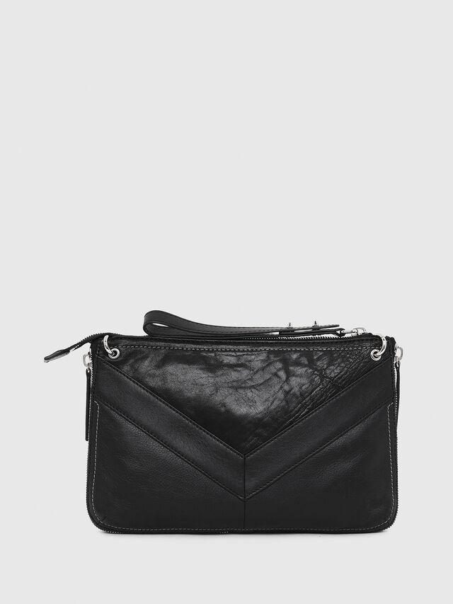 Diesel LE-LITTSYY, Black Leather - Clutches - Image 2