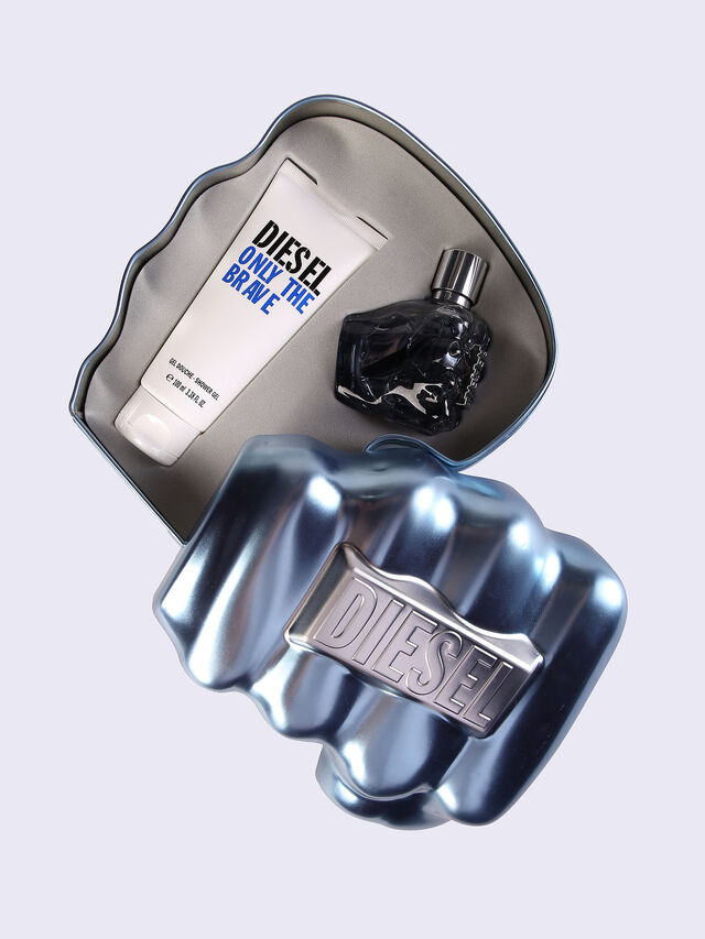 ONLY THE BRAVE 50ML METAL GIFT SET, Blue