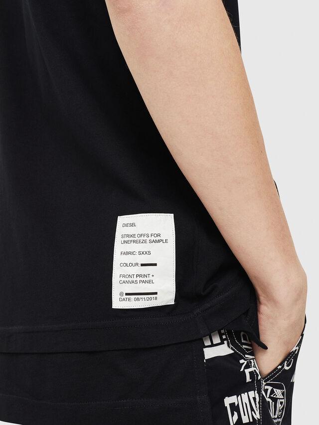Diesel - T-YORI, Black - T-Shirts - Image 4