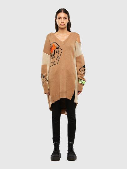 Diesel - M-ANNE, Light Brown - Knitwear - Image 1