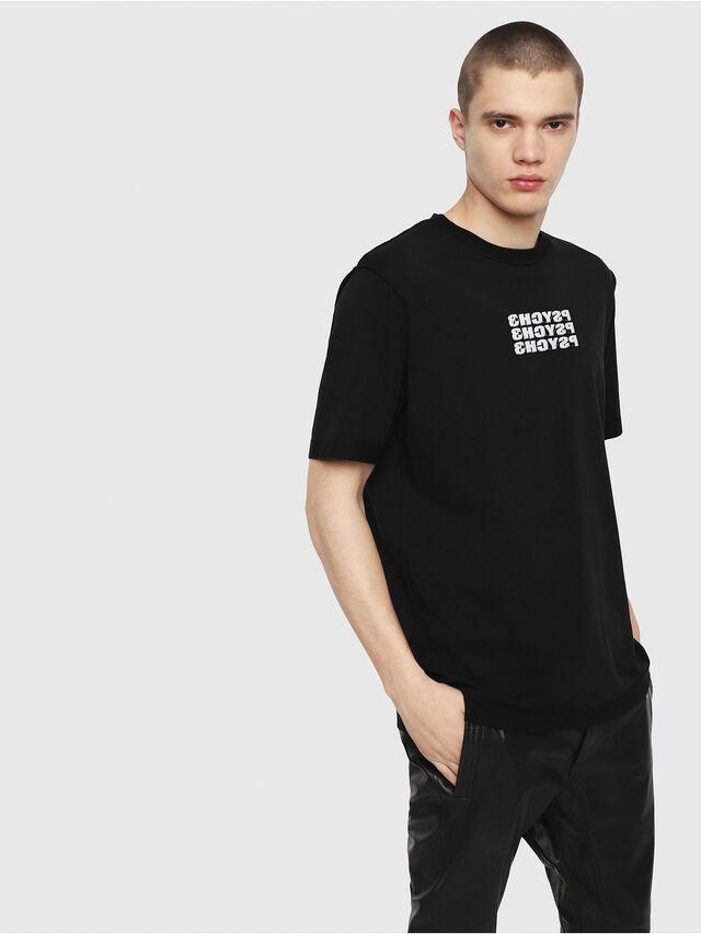 Diesel - T-JUST-Y9, Black - T-Shirts - Image 1