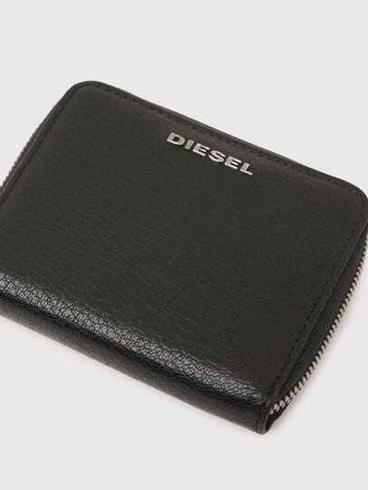 Diesel - CRASSU, Black/Blue - Zip-Round Wallets - Image 4