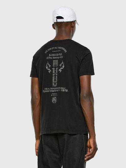 Diesel - T-DIEBIND, Black - T-Shirts - Image 6