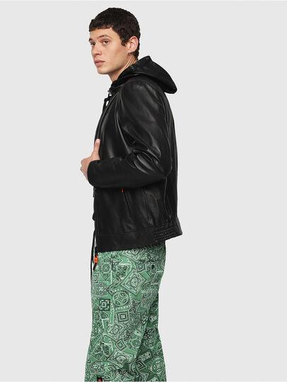 Diesel - L-RESTIL,  - Leather jackets - Image 3