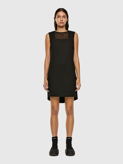 Diesel - D-PLEADY, Black - Dresses - Image 1