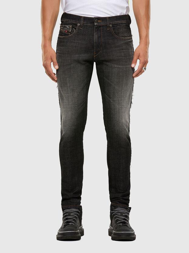 D-Strukt 009HY, Black/Dark grey - Jeans