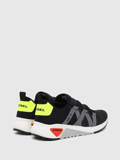 Diesel - S-KB WEB LACE, Black/Blue - Sneakers - Image 3
