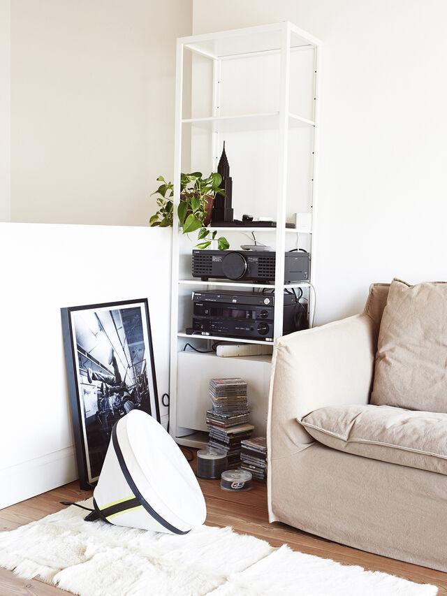 Living DRUMBOX TAVOLO/TERRA, White - Table Lighting - Image 1