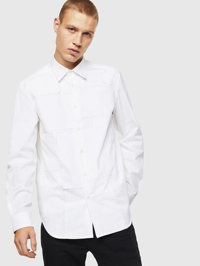 Diesel - S-AUDREY, White - Shirts - Image 1