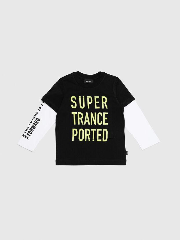 TANCEB-R, Black/White - T-shirts and Tops