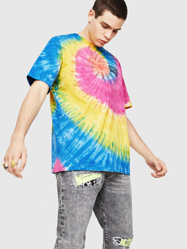 Diesel - DXF-T-JUST-1, Multicolor - T-Shirts - Image 1