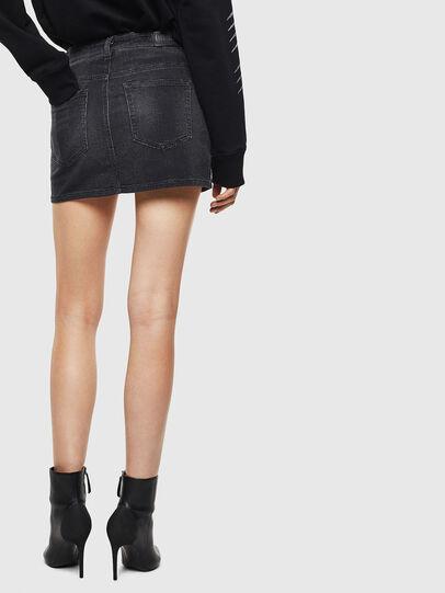 Diesel - D-IMANI-P-SX JOGGJEANS, Black/Dark grey - Skirts - Image 2