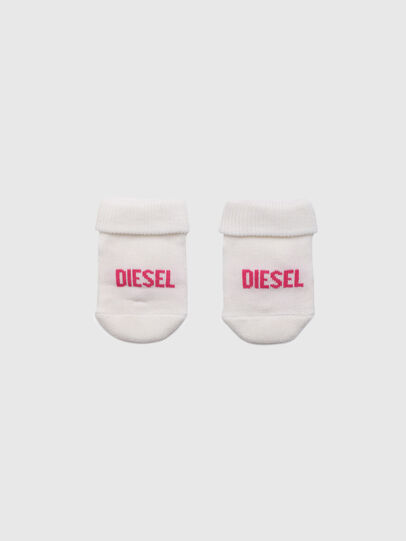 Diesel - ZEBET-NB, White/Pink - Other Accessories - Image 1