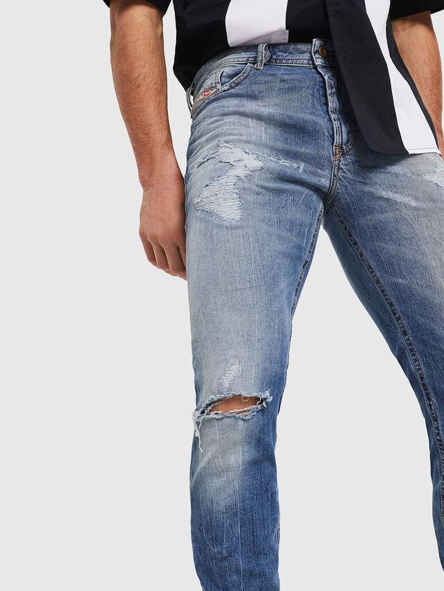 Diesel - Thommer 0090M, Medium blue - Jeans - Image 4