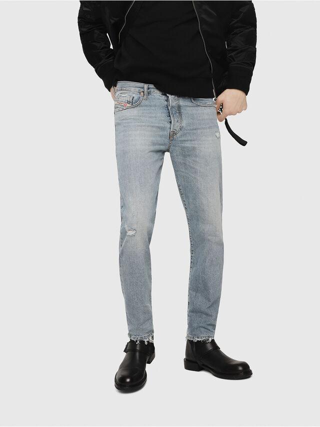 Diesel - Mharky 080AF, Light Blue - Jeans - Image 1