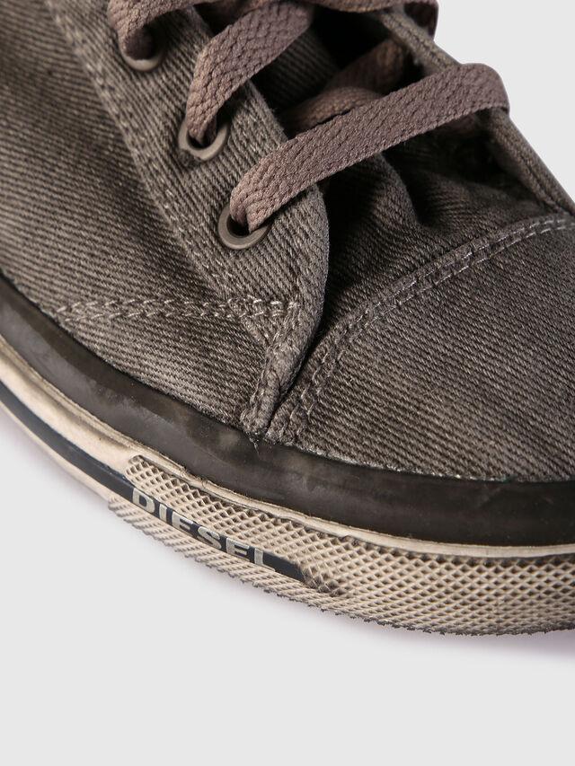 Diesel - EXPOSURE IV W, Grey Jeans - Sneakers - Image 4