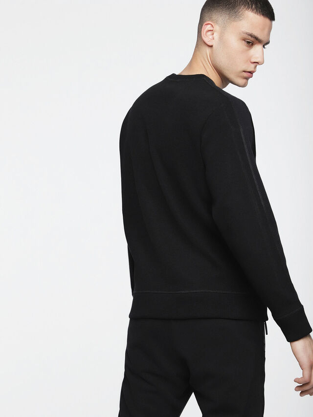 Diesel - S-TINA, Opaque Black - Sweaters - Image 2