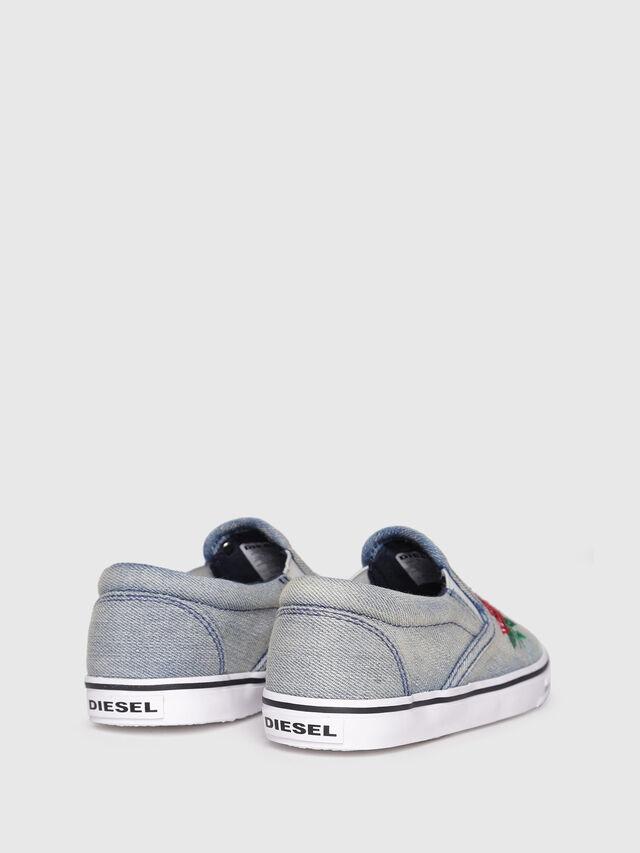 Diesel - SLIP ON 14 ROSE YO, Grey - Footwear - Image 3