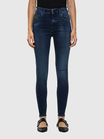 Diesel - Slandy High 009LR, Medium blue - Jeans - Image 1
