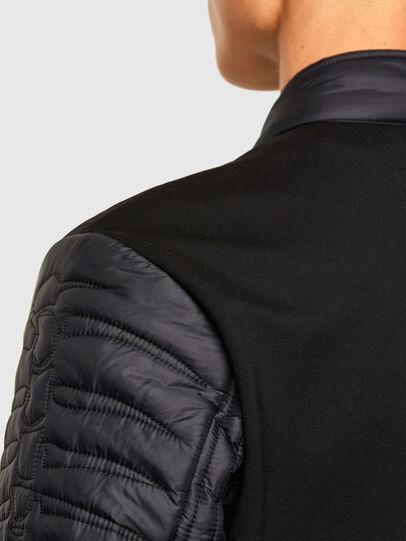Diesel - W-SHARK, Black - Winter Jackets - Image 4