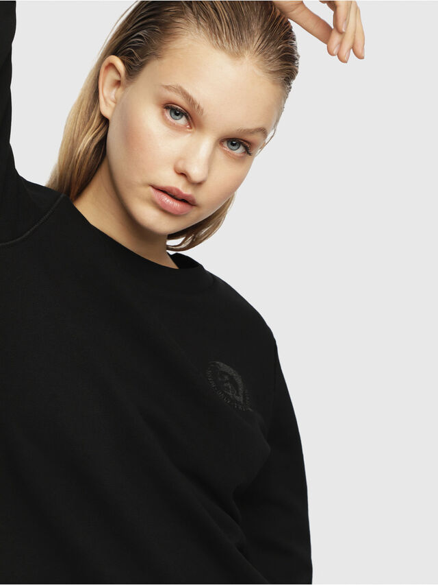 Diesel - UFLT-WILLA, Black - Sweaters - Image 3