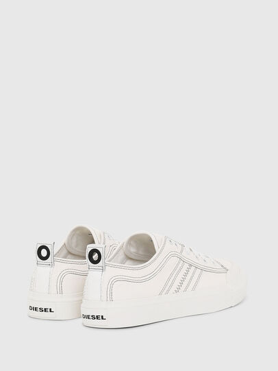 Diesel - S-ASTICO LOW LACE W, White - Sneakers - Image 3