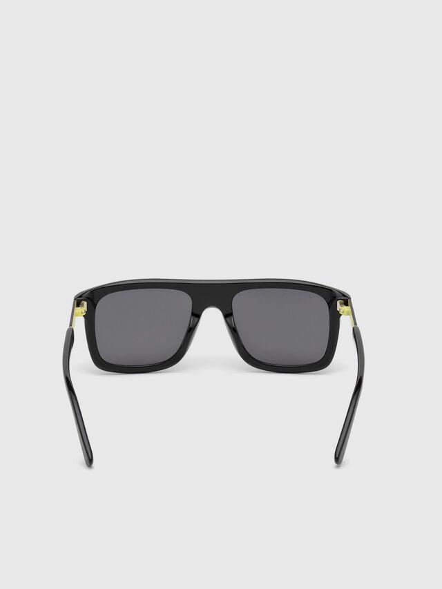 Diesel DL0268, Black - Eyewear - Image 4