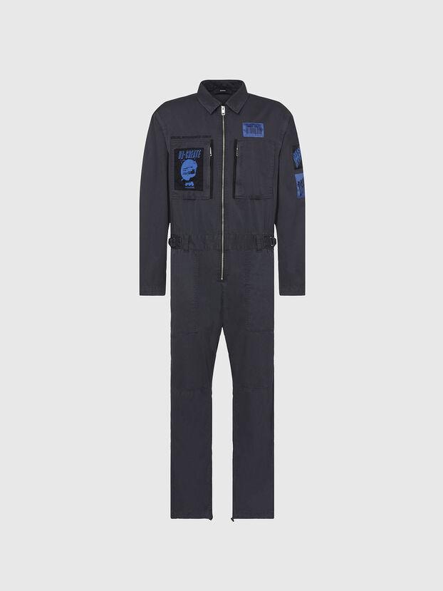 P-LARRY, Dark grey - Pants
