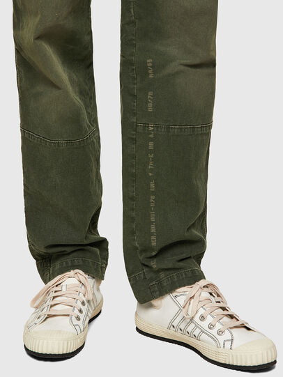 Diesel - D-Azerr JoggJeans® 069WH, Military Green - Jeans - Image 4