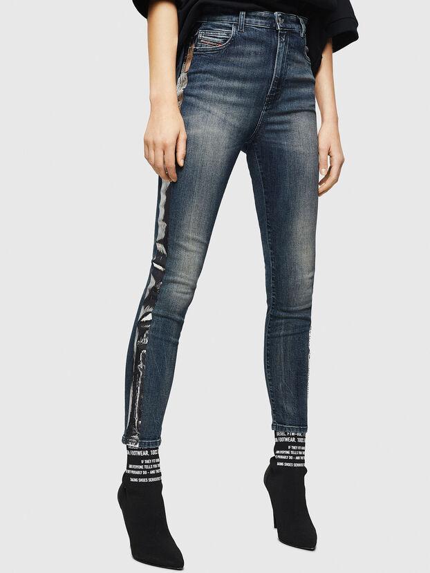Babhila High 069HN, Dark Blue - Jeans
