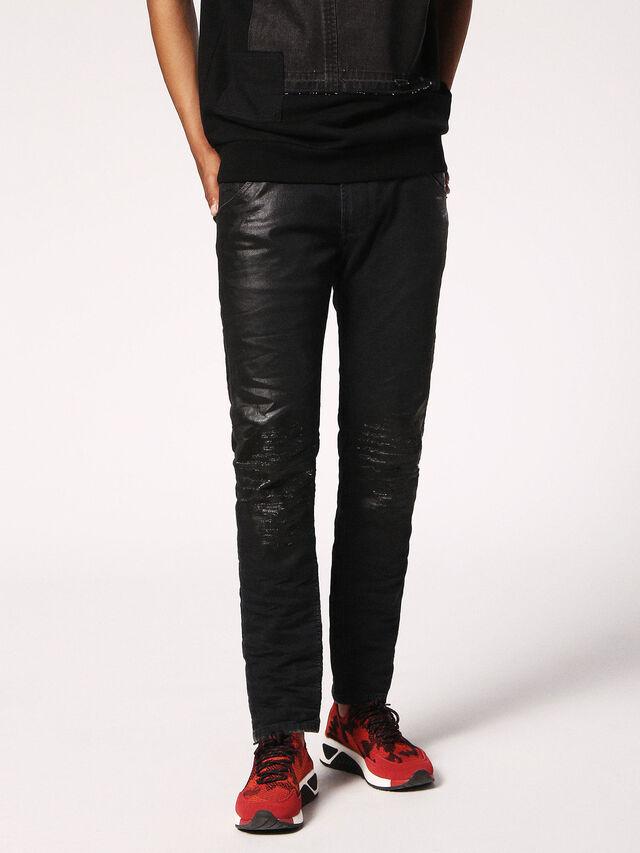 Diesel - KROOLEY CB JOGGJEANS 084JB, Black Jeans - Jeans - Image 4