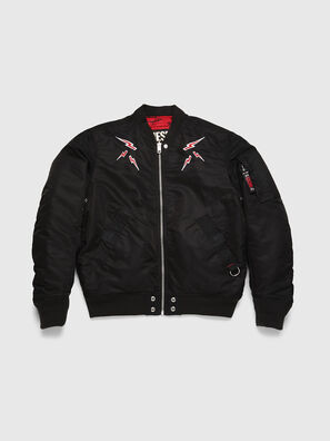CL-J-ROSS-REV-BIGM, Black - Winter Jackets