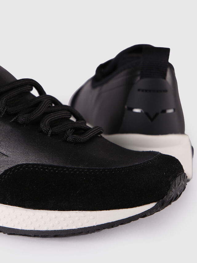 Diesel - S-KBY, Black Leather - Sneakers - Image 5