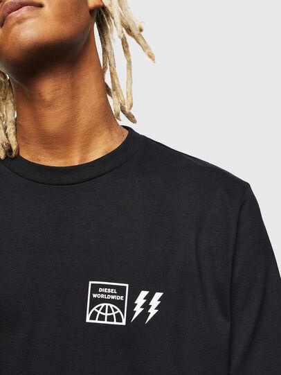 Diesel - T-JUST-VINT, Black - T-Shirts - Image 3