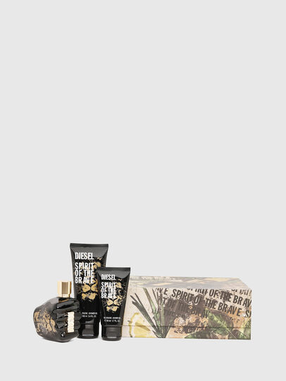 Diesel - SPIRIT OF THE BRAVE 75 ML GIFT SET, Black - Only The Brave - Image 1