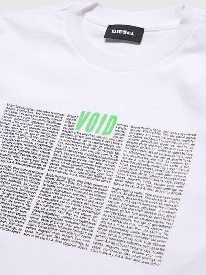 Diesel - TJUSTLS-NEW, White - T-shirts and Tops - Image 3