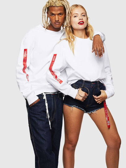 Diesel - CC-S-BAY-COLA, White - Sweaters - Image 6