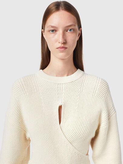 Diesel - M-RHODY, White - Knitwear - Image 3