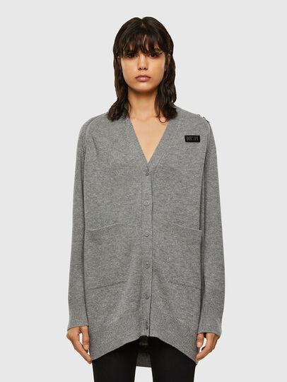 Diesel - M-CLEO, Grey - Knitwear - Image 1