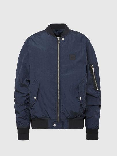 Diesel - J-DUST-KA, Dark Blue - Jackets - Image 1
