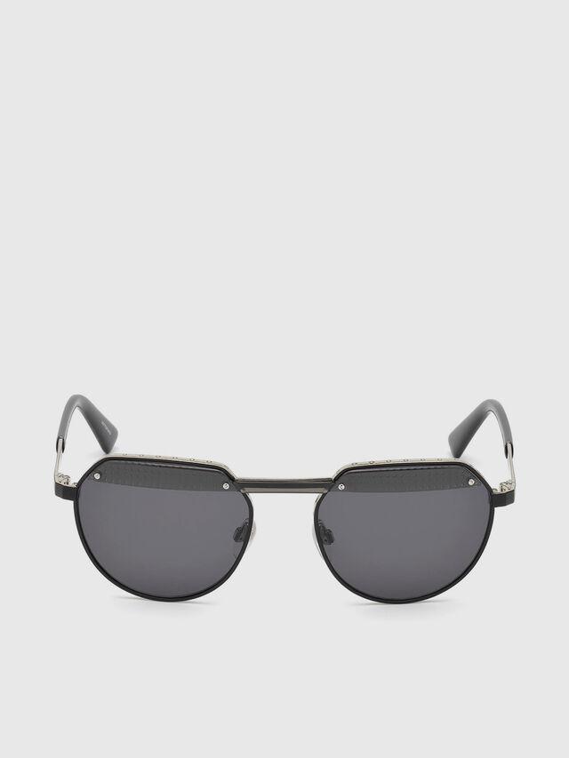 Diesel DL0260, Black - Eyewear - Image 1