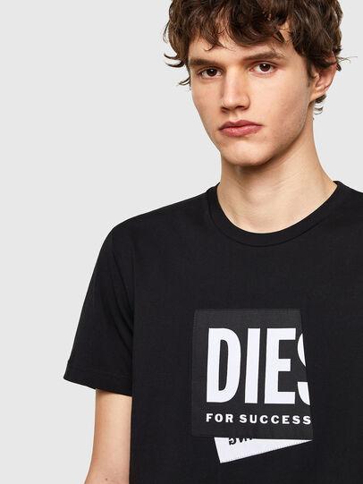Diesel - T-DIEGOS-LAB, Black - T-Shirts - Image 3