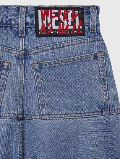 Diesel - DE-BETHY, Light Blue - Skirts - Image 4