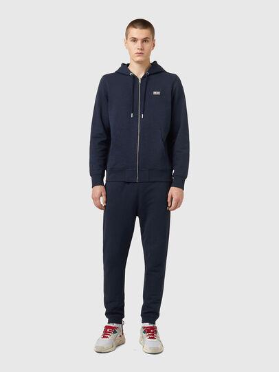 Diesel - S-GIRK-HOOD-ZIP-B2, Dark Blue - Sweaters - Image 4