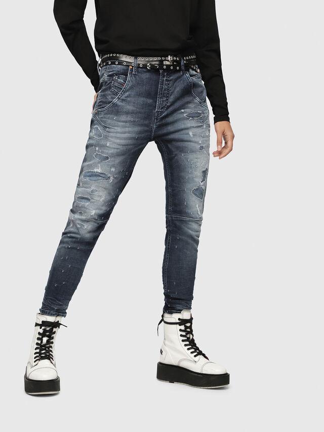 Diesel - Fayza JoggJeans 069CC, Medium blue - Jeans - Image 1